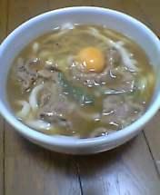うどんのレシピ『カレーうどん』